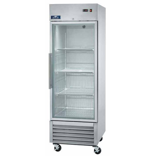 "Arctic Air AGR23 27"" One Section Glass Door Reach-In Refrigerator - 23 cu. ft."