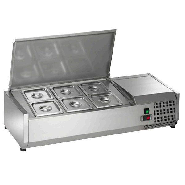 """Arctic Air ACP40 40"""" Refrigerated Countertop Condiment Prep Station"""