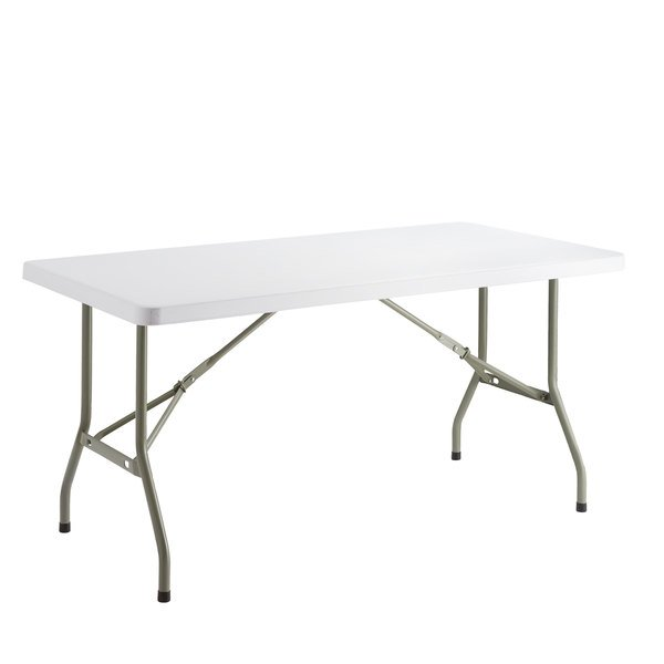 2019 New Height Adjustable Inches Folding Personal Tables White Plastic US