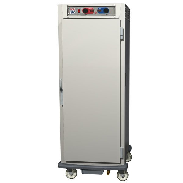 Metro C599-NFS-LPFS C5 9 Series Pass-Through Heated Holding and Proofing Cabinet - Solid Doors Main Image 1