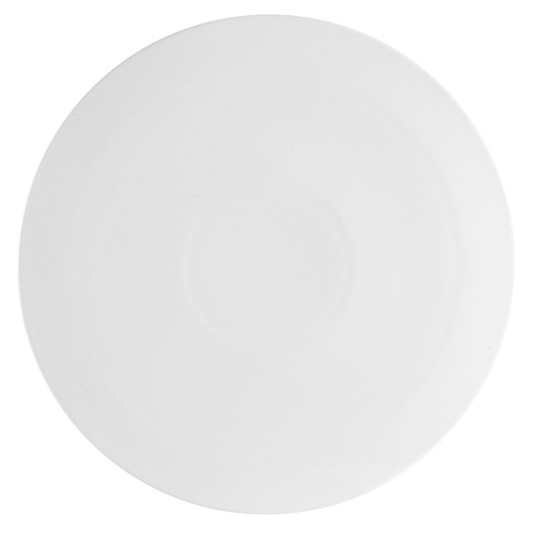 "CAC PP-2 White China Pizza Plate 14"" - 12/Case"