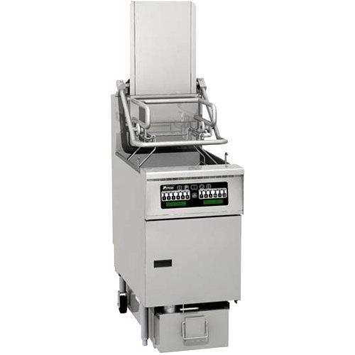 Pitco® SG6H-C Solstice Natural Gas 80-90 lb. Rack Floor Fryer with Intellifry Computer Controls - 140,000 BTU