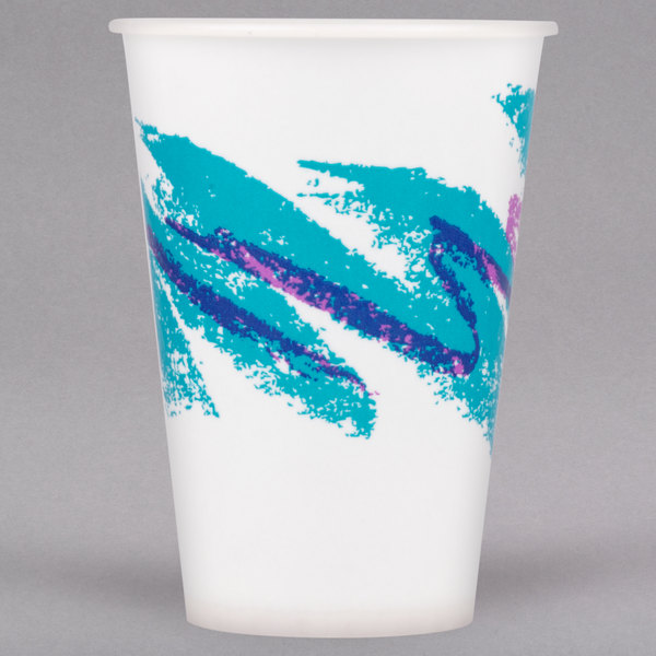 Dart Solo R7N-00055 Jazz 7 oz  Wax Treated Paper Cold Cup - 2000/Case