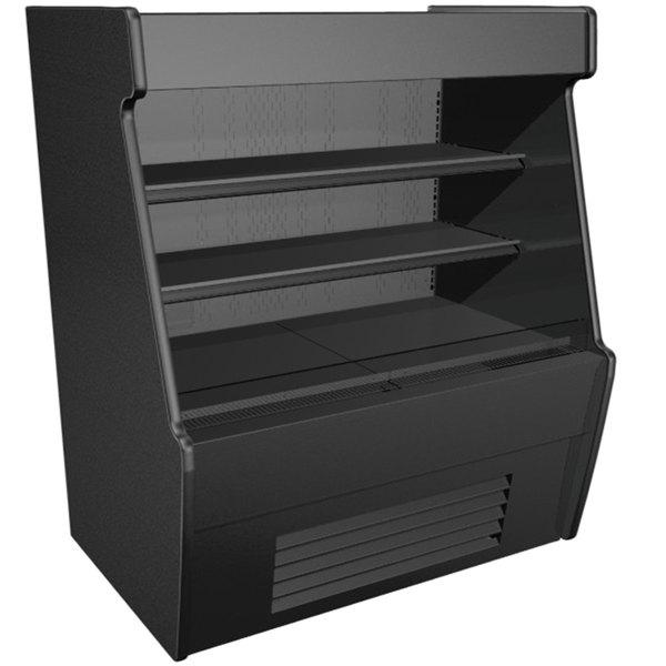 Structural Concepts CO55R-QS Black Horizontal Air Curtain Merchandiser