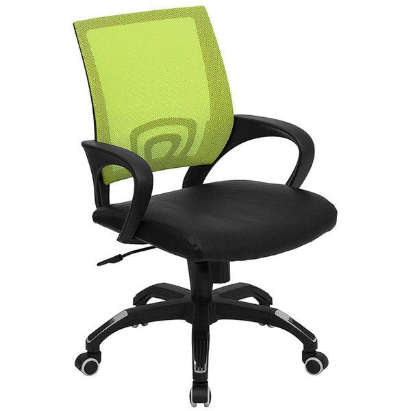 Flash Furniture Cp B176a01 Green Gg Mid Back Computer