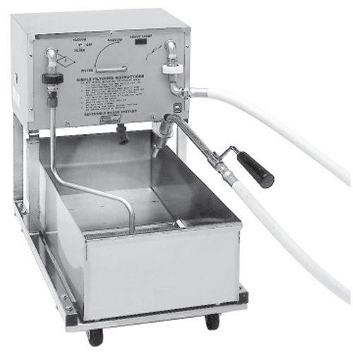 Pitco P14 55 lb. Portable Fryer Oil Filter Machine - 120V