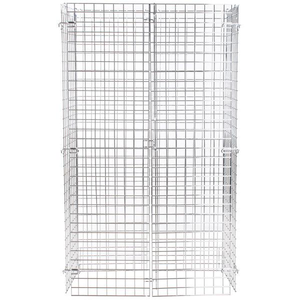 Regency NSF Chrome Wire Security Cage - 18 inch x 36 inch x 61 inch