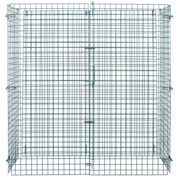 """Regency NSF Green Wire Security Cage - 18"""" x 60"""" x 61"""""""