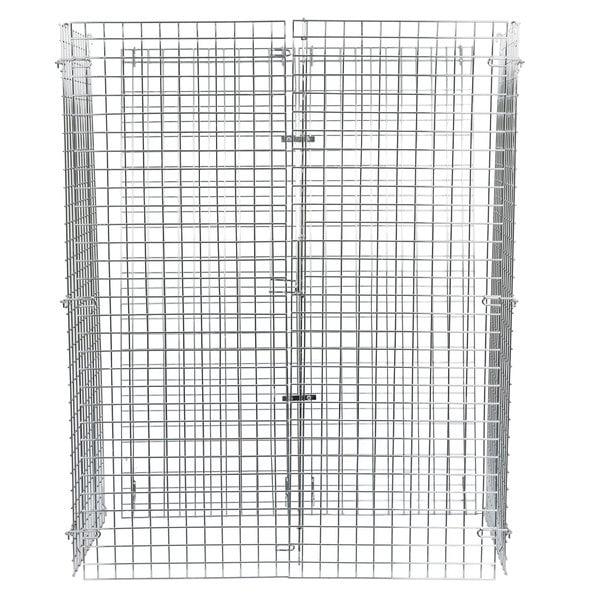 """Regency NSF Chrome Wire Security Cage - 24"""" x 48"""" x 61"""""""