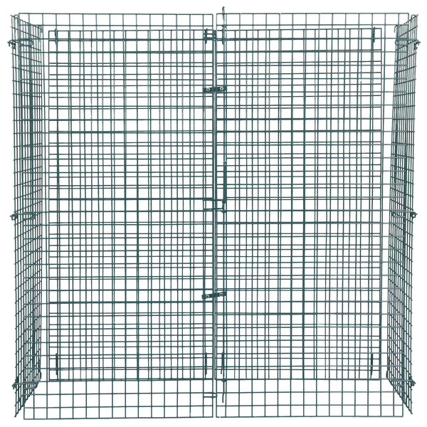 """Regency NSF Green Wire Security Cage - 24"""" x 60"""" x 61"""""""