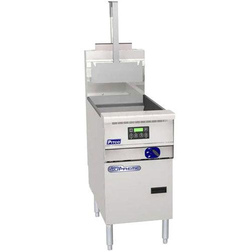Pitco SSPE14 Solstice Supreme 12 Gallon Electric Pasta Cooker - 208V, 1 Phase
