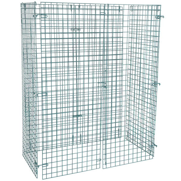 """Regency NSF Green Wire Security Cage - 24"""" x 48"""" x 61"""" Main Image 1"""