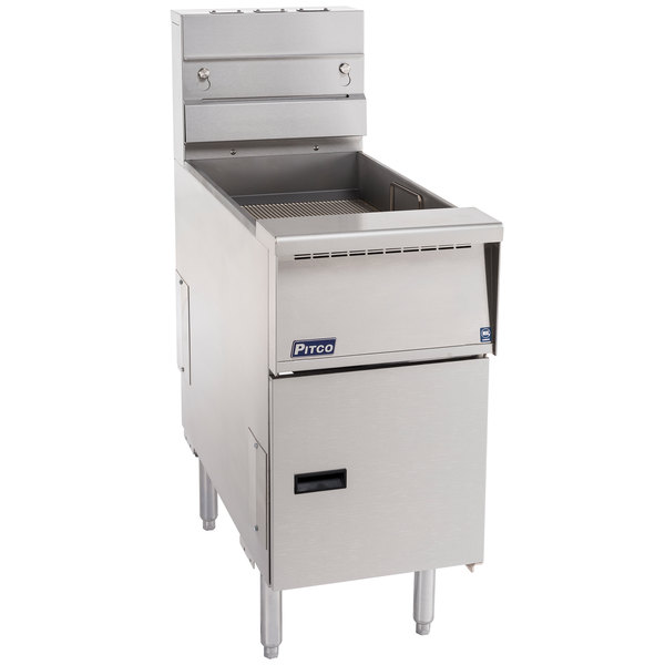 Pitco SE-BNB-18 Solstice Bread and Batter Cabinet Fry Dump Station