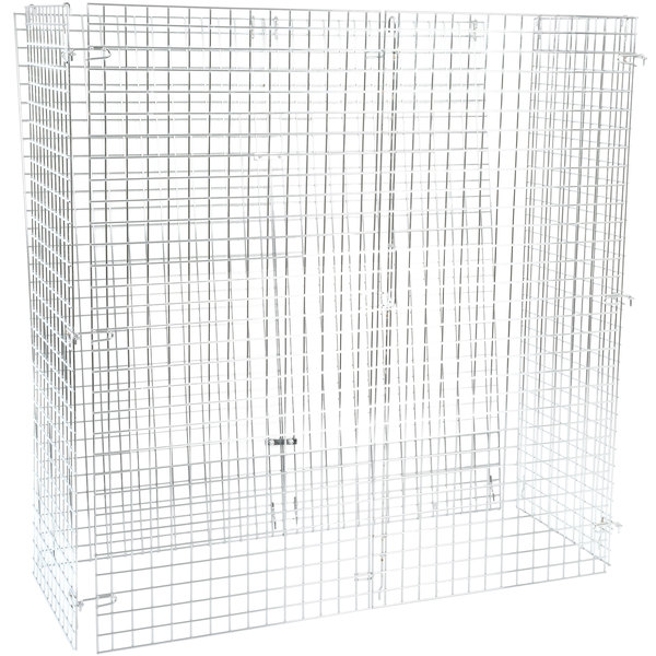 """Regency NSF Chrome Wire Security Cage - 24"""" x 60"""" x 61"""" Main Image 1"""