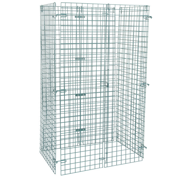 """Regency NSF Green Wire Security Cage - 24"""" x 36"""" x 61"""" Main Image 1"""