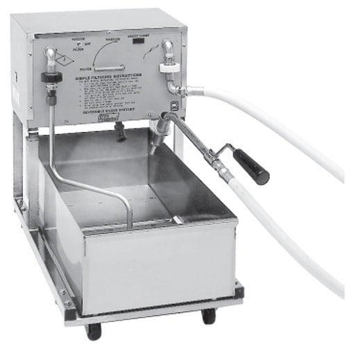 Pitco P18 75 lb. Portable Fryer Oil Filter Machine - 120V