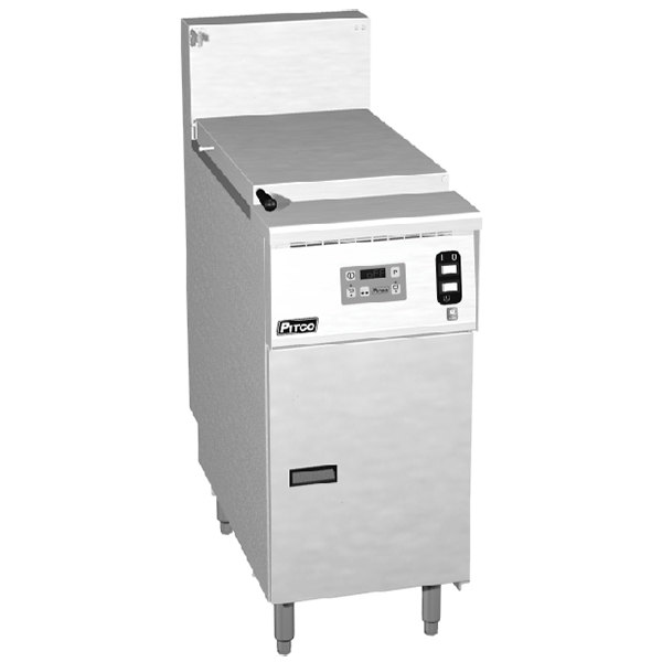 Pitco SRTE14-D 16.5 Gallon Electric Commercial Pasta Cooker with Digital Controls - 240V, 1 Phase