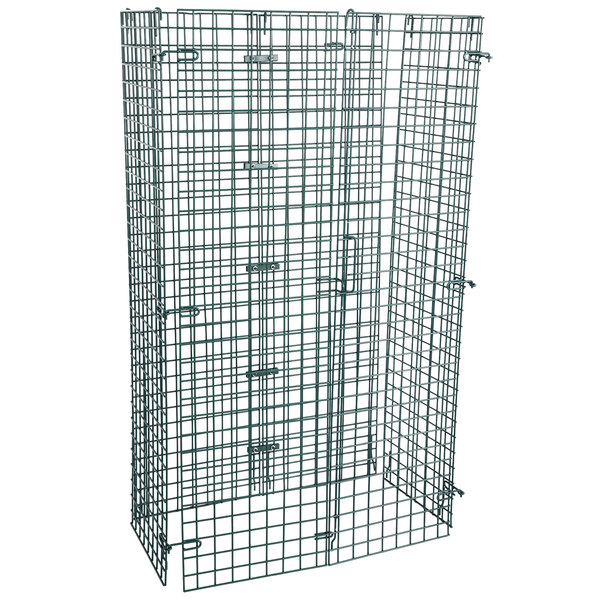 """Regency NSF Green Wire Security Cage - 18"""" x 36"""" x 61"""""""