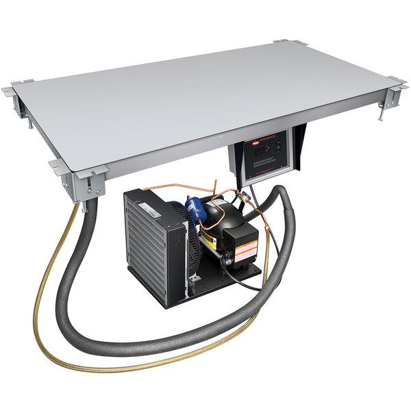 """Hatco CSU-36-I Aluminum Built-In Undermount Cold Shelf - 36"""" x 19 1/2"""" Main Image 1"""