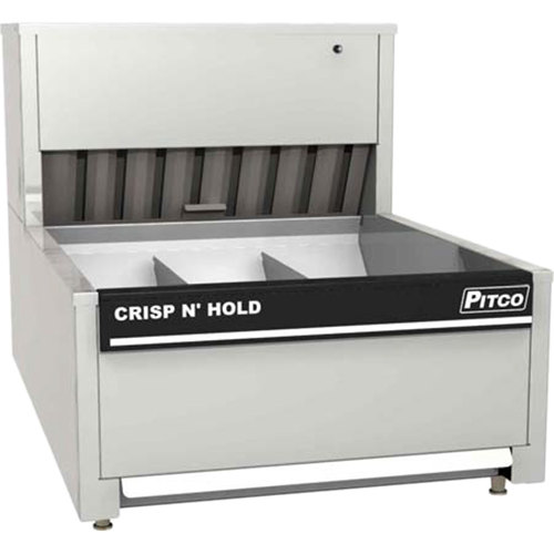 Pitco PCC-18 Crisp N' Hold Countertop Food Station with 2 Dividers