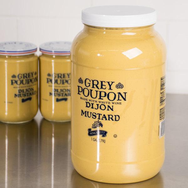 grey poupon dijon mustard 1 gallon 2 case