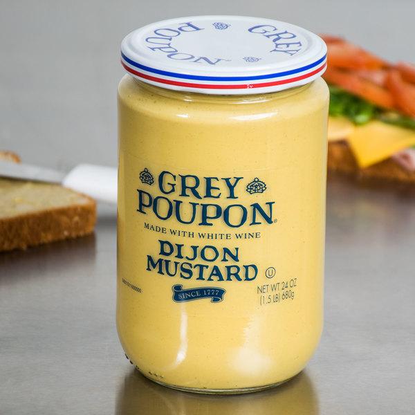 grey poupon dijon mustard 24 oz 6 case