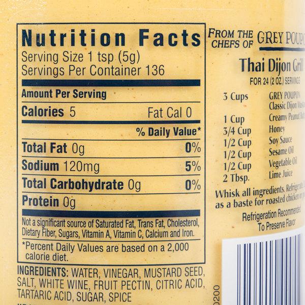 grey poupon dijon mustard 24 oz