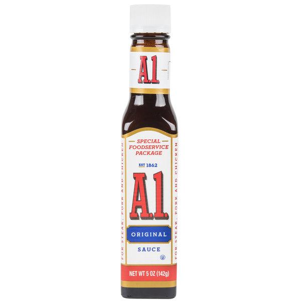 A1 Steak Sauce 5 oz. - 24/Case