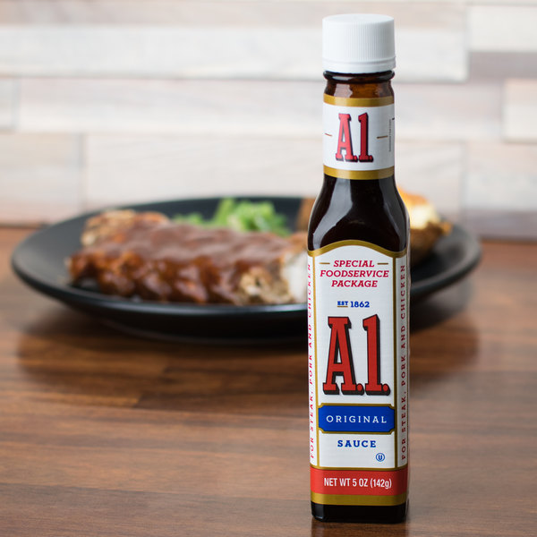 A1 Steak Sauce 5 oz. - 24/Case