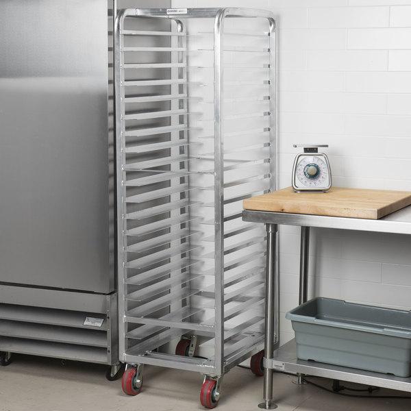 Channel AXD-UTR-20 20 Pan Heavy-Duty Aluminum Steam Table / Bun Pan Rack - Assembled