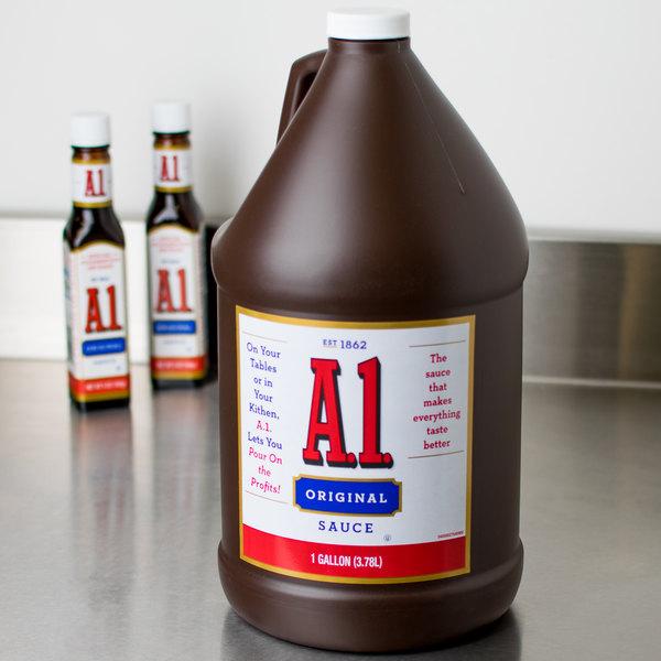 A.1. Original Steak Sauce 1 Gallon - 2/Case Main Image 6