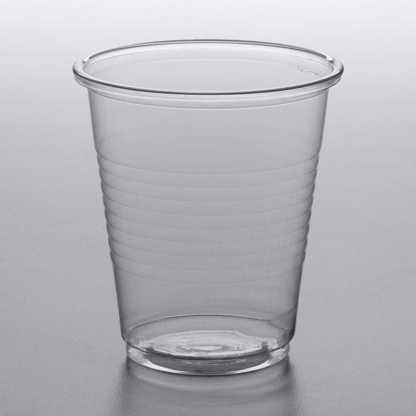 5 oz. Clear Plastic Cups, 2500 Pack - WebstaurantStore