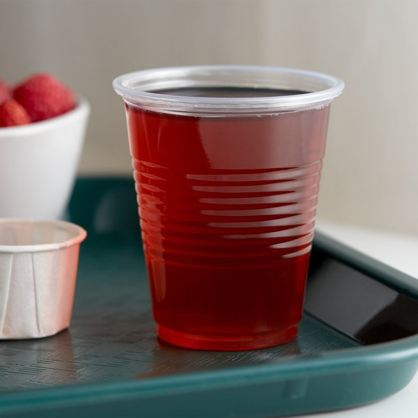 Choice 5 oz. Translucent Thin Wall Plastic Cold Cup - 2500/Case Main Image 2