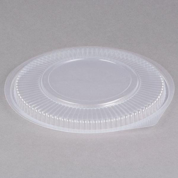 Genpak FP948 Smart-Set Pro Clear Plastic Round Microwaveable Lid - 300/Case