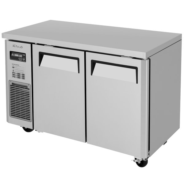 "Turbo Air JUF-48S-N J Series 48"" Narrow Undercounter Freezer with Side Mounted Compressor Main Image 1"