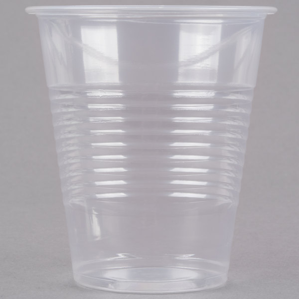Choice 12 oz. Translucent Thin Wall Plastic Cold Cup - 1000/Case