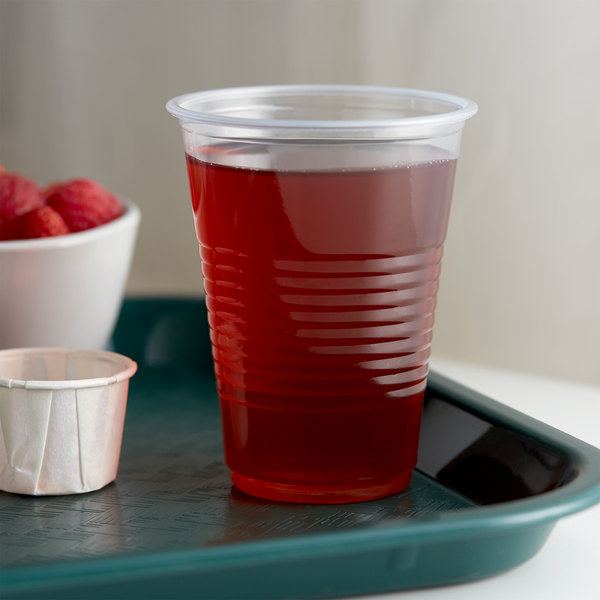 Choice 7 oz. Translucent Thin Wall Plastic Cold Cup - 2500/Case Main Image 2
