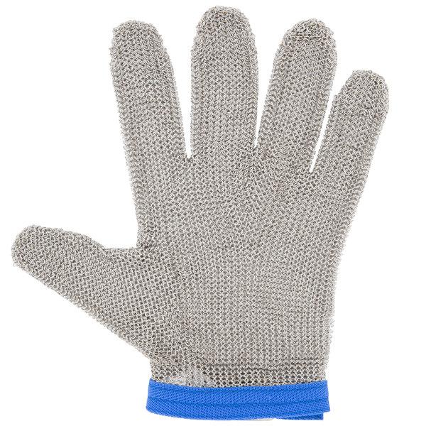 San Jamar MGA515L Stainless Steel Mesh Cut Resistant Glove - Large