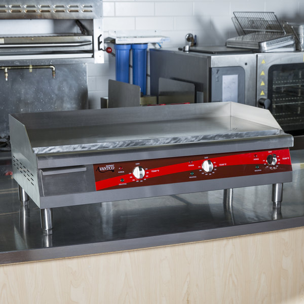 Commercial Griddles For Restaurants ~ Avantco eg n quot electric countertop griddle v