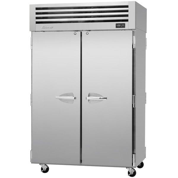 "Turbo Air PRO-50R-PT 52"" Premiere Pro Series Solid Door Pass-Through Refrigerator"