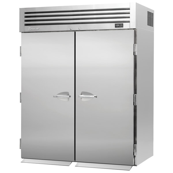"Turbo Air PRO-50F-RI-N 67"" Premiere Pro Series Solid Door Roll-In Freezer Main Image 1"