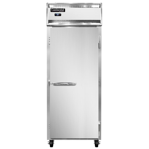 """Continental Refrigerator 1RE 29"""" One Section Extra Wide Reach-In Refrigerator - 21 Cu. Ft."""