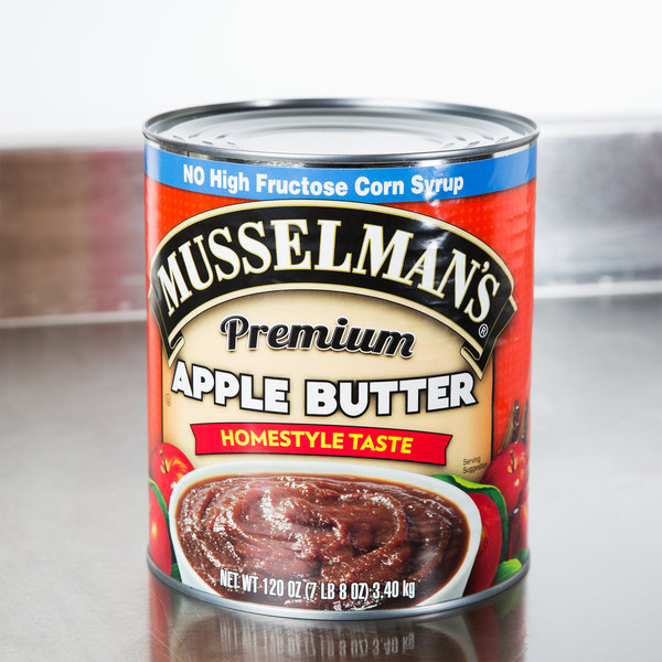 Musselman's Apple Butter #10 Can - 3/Case