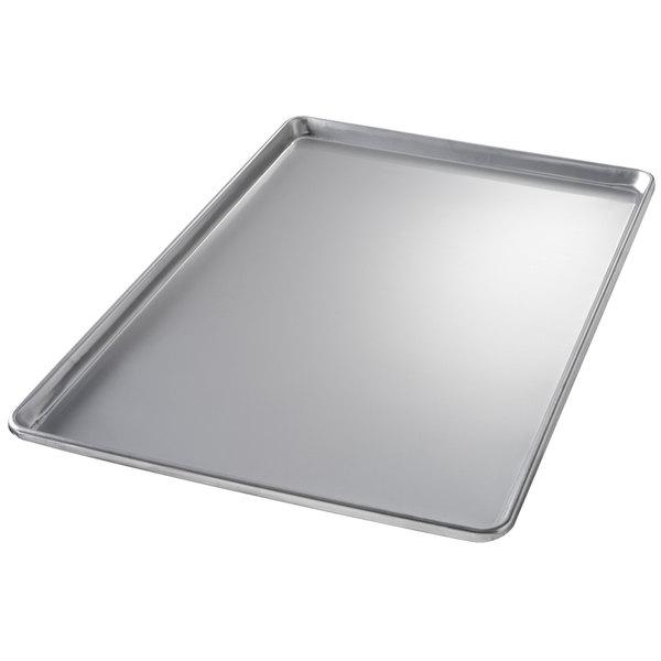"Chicago Metallic 40912 Non-Textured Full Size Customizable Bakery Display Tray - 18"" x 26"""