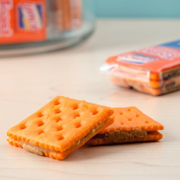 Lance Toast Chee Peanut Butter Sandwich Crackers 20 Count Box - 6/Case Main Image 4