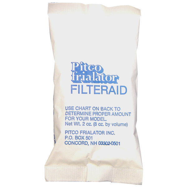 Pitco PP10733 Filter Powder 8 oz. Portion Pack - 120/Case