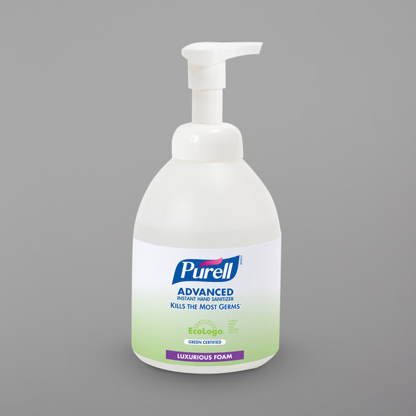 Purell® 5791-04 Advanced Green Certified 535 mL Foaming Instant Hand Sanitizer - 4/Case Main Image 1