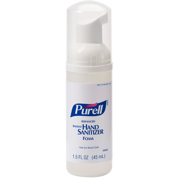 Purell® 5692-24 Advanced 45 mL Foaming Instant Hand Sanitizer - 24/Case