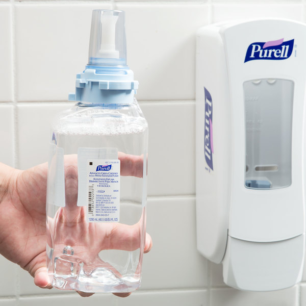 Purell® 8804-03 ADX Advanced Green Certified 1200 mL Foaming Instant Hand Sanitizer - 3/Case