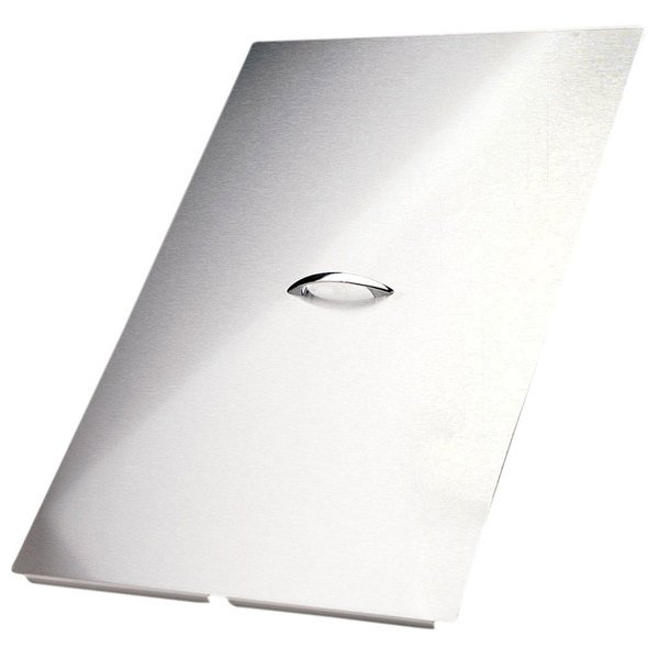 """Pitco B2101506-C 19 1/2"""" x 24 5/8"""" Stainless Steel Fryer Cover"""